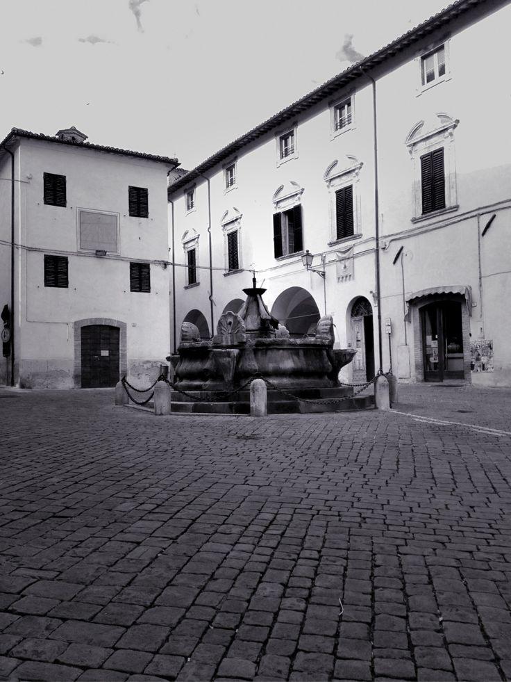 Fontana della vecchia Serra San Quirico