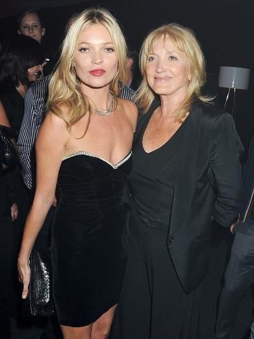Kate Moss and Mumma Moss. CelebCon - Stars with their mums | News.com.au