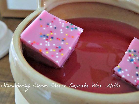 Wax smelt - Soy Wax smelt - Wax Warmers - stuk Wax Tarts - Clamshell Wax Tarts - Wickless Candle - aardbei Wax smelt - geurende Wax smelt