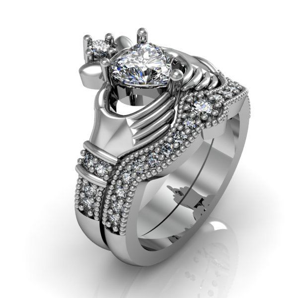 33 best rings images on Pinterest Claddagh rings Promise rings
