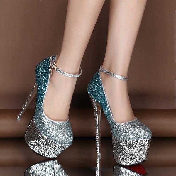 High Stiletto Heels Shoes Platform Pumps – – #Gen…