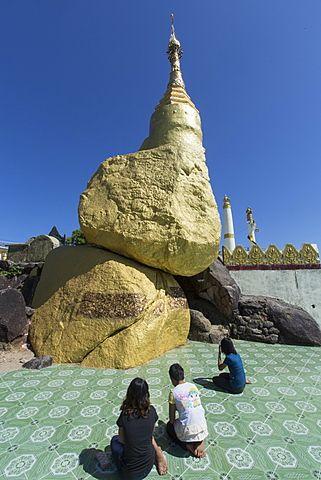 Nwa-La-Bo Pagoda, Mawlamyine, Mon, Myanmar (Burma), Southeast Asia