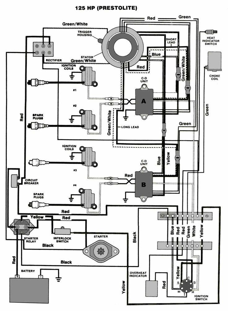 mercruiser 140 schema cablage