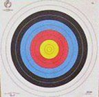 Archery Target Faces 80cm x 25 FITA Approved by Archery World. Archery Target Faces 80cm x 25 FITA Approved.