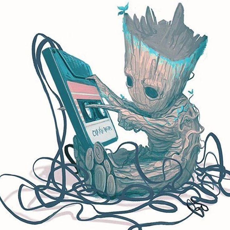 "Gefällt 2,387 Mal, 6 Kommentare - Antman616 (@rogue_comics_) auf Instagram: ""Art: <Mike del Mundo> Baby Groot…"""