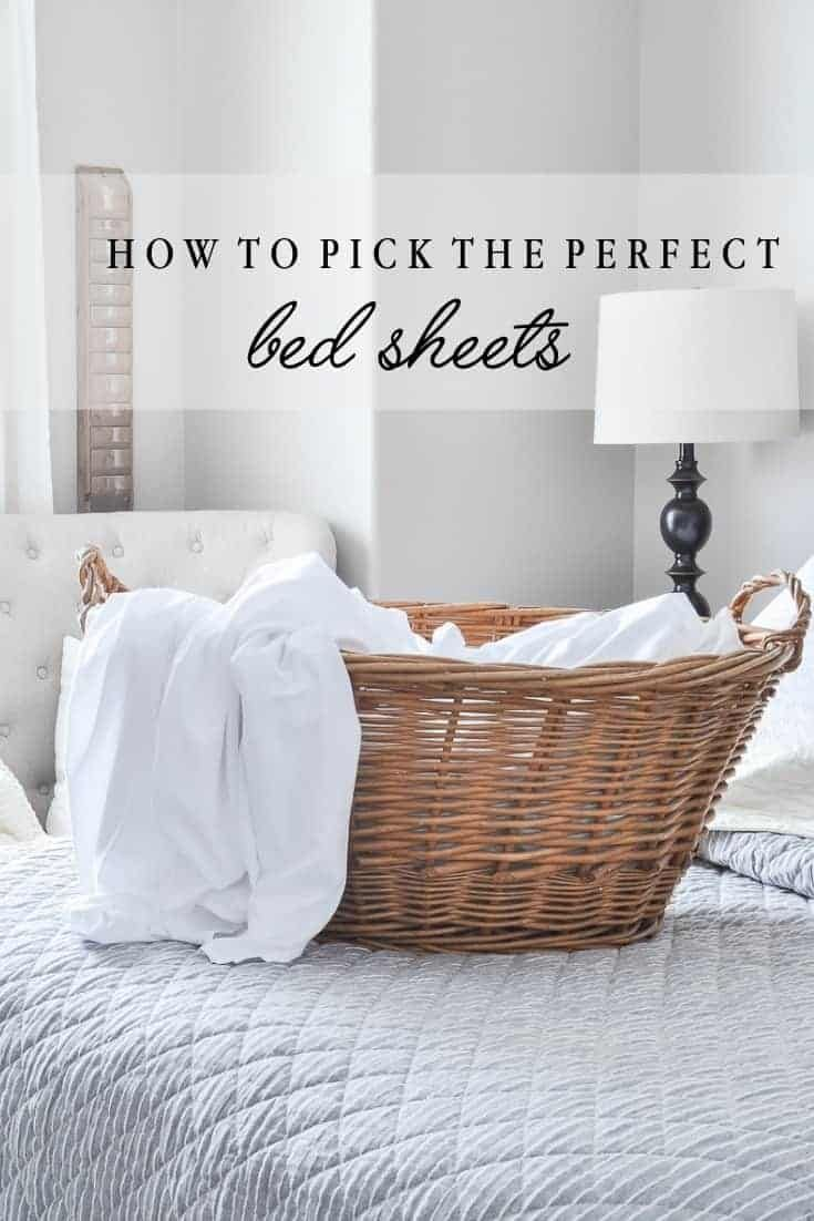 How To Pick The Perfect Bed Sheets In 2020 Bed Sheets Simple Bed Bedding Master Bedroom