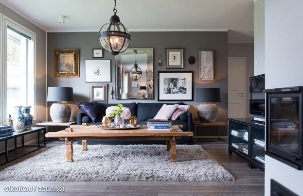 Myytävät asunnot, Rantaniitynpolku 10, Siuntio #oikotieasunnot #olohuone #livingroom #decoration #homedecoration