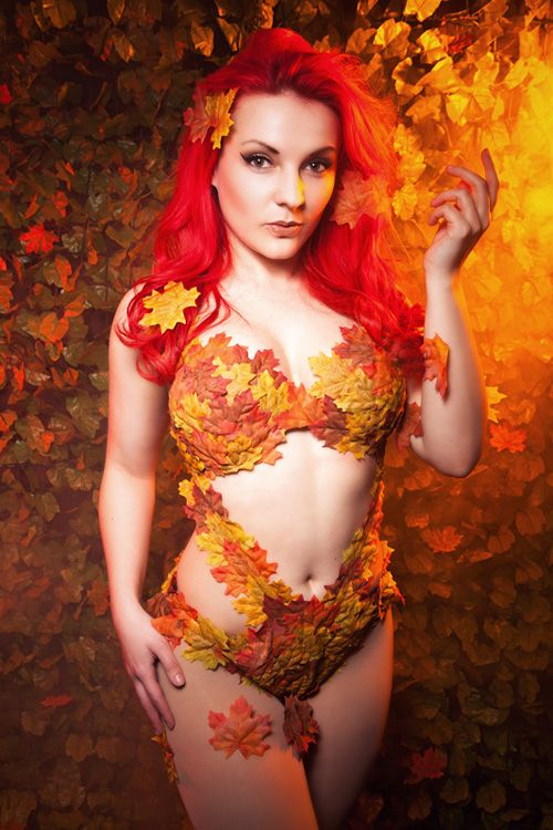 Autumn Poison Ivy Cosplay http://geekxgirls.com/article.php?ID=5061