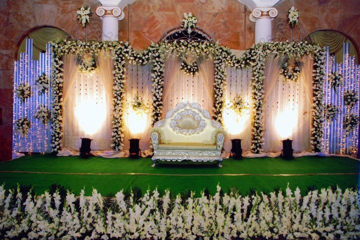 Wedding Stage Decoration Items In Bangalore : Bangalore stage decoration design wedding reception