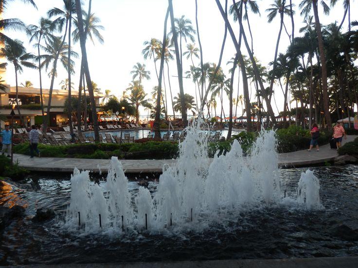 Superpool at the Hilton Hawaiian Village, Honolulu, Hawaii, USA
