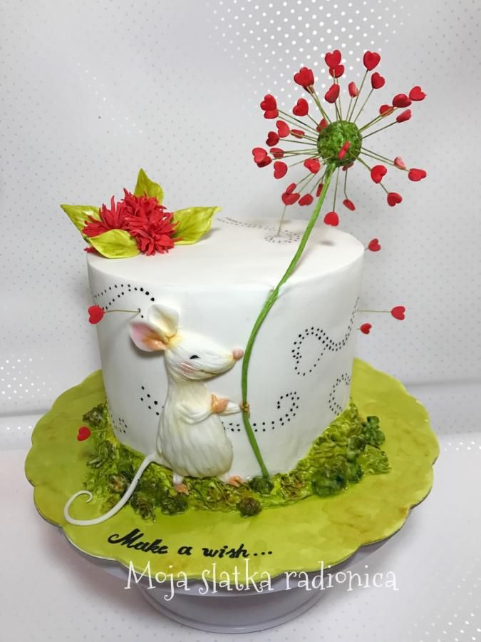 Love cake by Branka Vukcevic