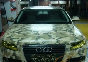 Vinyl Wrap CAR Wrapping With AIR Drain System Desert Camouflage Price PER Meter | eBay