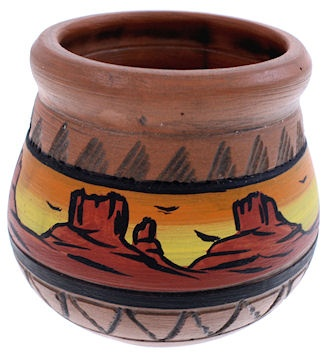 Native American Pot by Navajo Artist Derrick Watchman KS73710 http://www.silvertribe.com: Native American