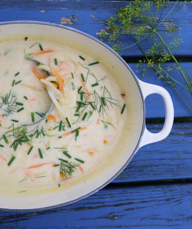 Fiskesuppe er en favoritt hjemme hos oss – og hos mange av dere, vet jeg. Her kommer oppskrift på en kremet fiskesuppe hvor fisken får selskap av rikelig med gode rotgrønnsaker – som er…