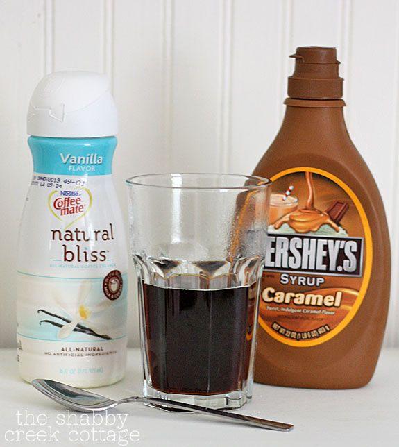 Caramel Vanilla Iced Coffee Recipe