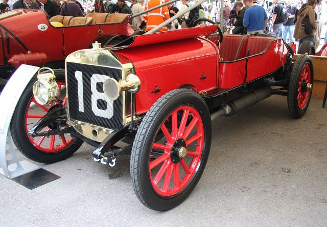 1908 Austin Grand Prix 9.7 litre 6-cylinder engine 9657cc 171 bhp. Top speed 92mph or 148 kph