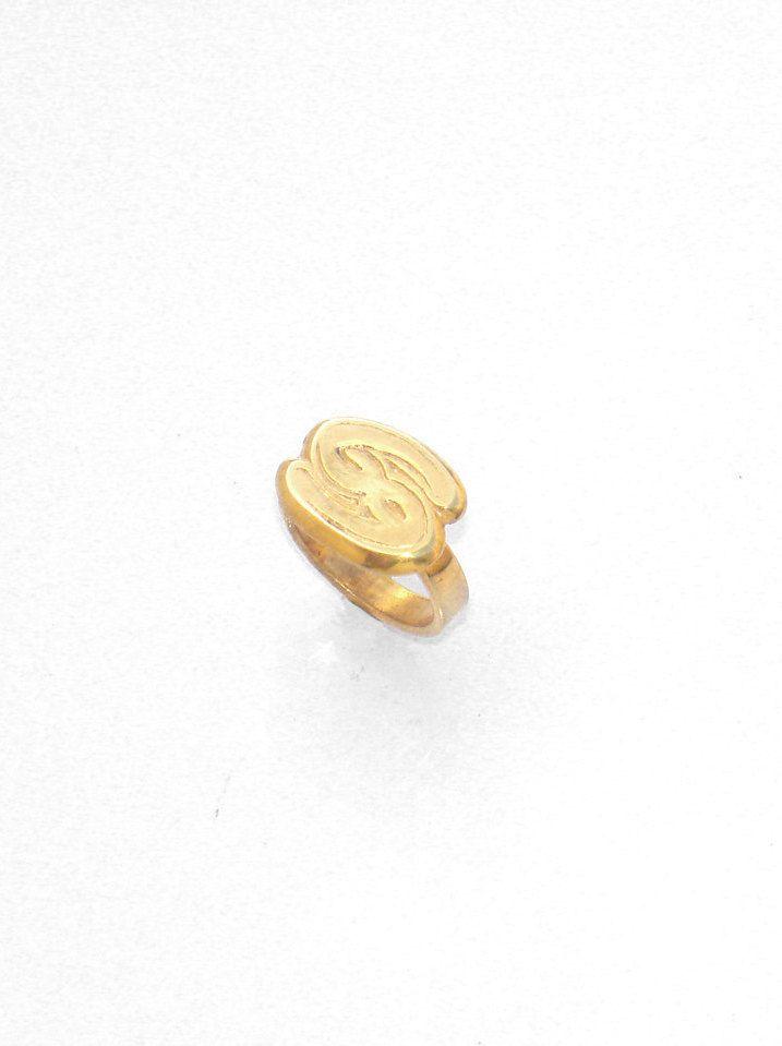 Cancer Ring - Zodiac Ring - Horoscope Ring - Astrology Ring - Mens Ring - Womans Ring - Brass Handmade Jewelry - Gift For Her - Mens Gift by profoundgarden on Etsy