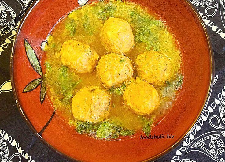 Kashmiri Gushtaba, Meatballs in Yogurt Broth