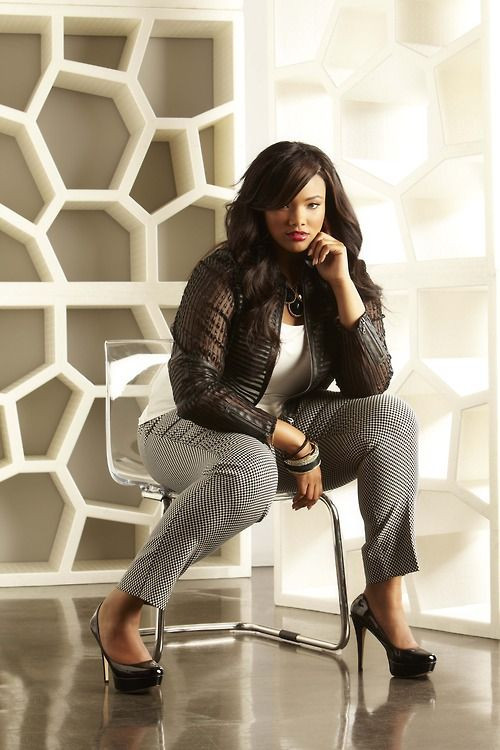Signature by Ashley Stewart Campaign 2013 Model Anita Marshall