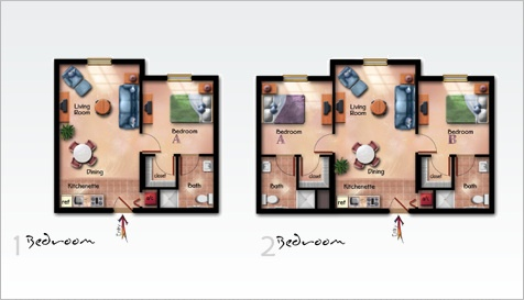 A place to live as independent as one can, with help near by, and friends around. Here ar the Concept Floor Plans.
