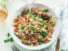 Recept Tabouleh met gehaktballetjes | Ekoplaza | De grootste biologische supermarktketen van Nederland