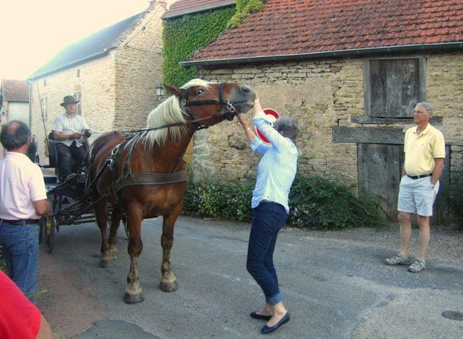 Village life en France