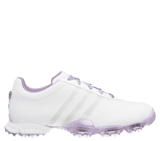 Adidas Ladies Signature PAULA 2.0 Golf Shoes - White/Jasmine. wannnt