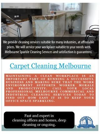 Hotel Cleaning Services  Visit this site http://www.sparkleoffice.com.au/ for more information on hotel cleaning services. If you are a hotel manager or owner, you understand the importance of keeping your rooms fresh and clean. Hotel cleaning is not only regulated by the industry, it is also necessary to keep a loyal book-of-business that will return and refer customers your way. Therefore hire the best hotel cleaning services. Follow us…