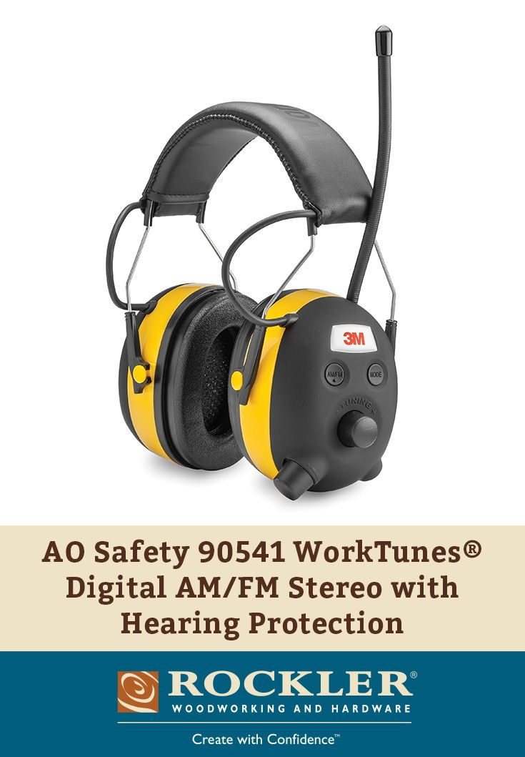 Ao Safety 90541 Worktunes Digital Am Fm Stereo With Hearing