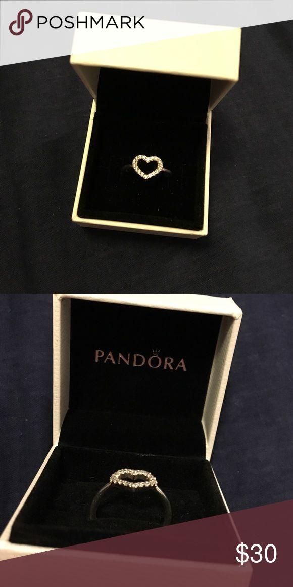 Be My Valentine Pandora ring Be My Valentine ring by Pandora. Brand new, never worn. Pandora Jewelry Rings