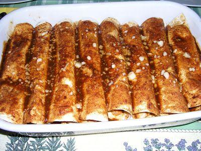 Enchiladas de pollo y queso - Trattoria MuVarA