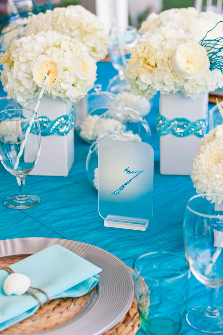 Quinceanera Under The Sea Chair Covers Events Inspired