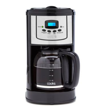 Coffee Maker Jcpenney : Cooks 12-Cup Programmable Coffee Maker found at @JCPenney Hopeful Homes Pinterest ...