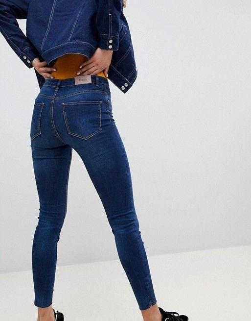 a5166acacc33 Stradivarius Regular Waist Skinny Jeans in 2019   Fashion   Jeans ...