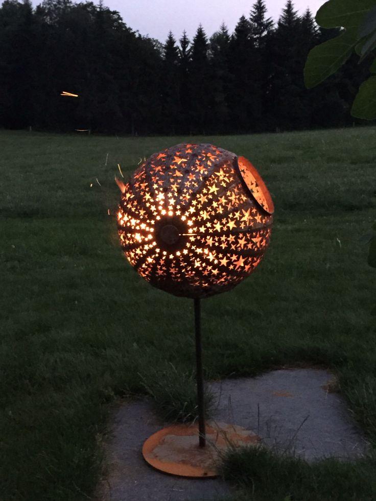 13 best feuerkugel images on pinterest outdoor - Feuerkugel garten ...