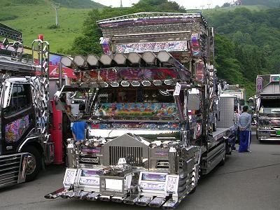 常勝丸①.Japanese Dekotora (decoration truck)