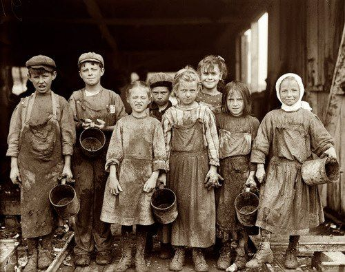 1800s ~ London children workhouse For the next time my classes complain about how much homework they have.