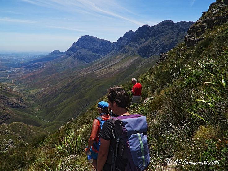 Stunning views from the Panorama Hiking Trail, Jonkershoek Nature Reserve.