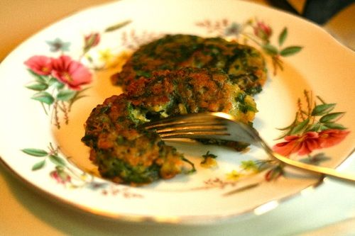 Frittelle di Spinaci (from Serious Eats' Seriously Italian column)