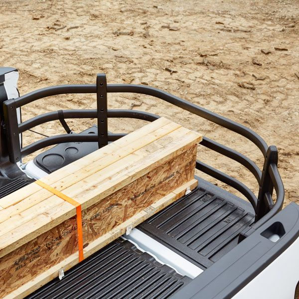 Expand the cargo capacity of your Silverado 1500 pickup truck with this Bed Extender. It is designed to swing out to provide additional functional length over an open tailgate, or swing in to create a contained cargo area within the bed and is compatible with Bedliners and Tonneau Covers. - 2015 Silverado 1500 Bed Extender
