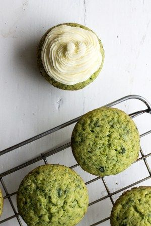 Lemon and Stinging Nettle Cupcakes with Lavender Buttercream Recipe | Veggie Desserts Blog