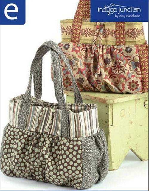 This large and roomy shoulder bag makes for a great tote or a stylish everyday purse