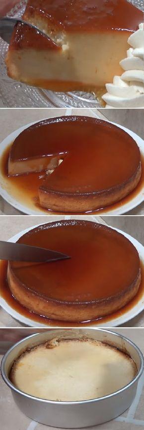 """FLAN 3 LECHES SIN HORNO!!! """" By Silvana Cocina. #flan #3leches #tresleches #sinhorno #flanes #budin #pudin #budines #caramelo #postres #gelato #cheesecake #cakes #pan #panfrances #panettone #panes #pantone #pan #recetas #recipe #casero #torta #tartas #pastel #nestlecocina #bizcocho #bizcochuelo #tasty #cocina #chocolate Si te gusta dinos HOLA y dale a Me Gusta MIREN..."""