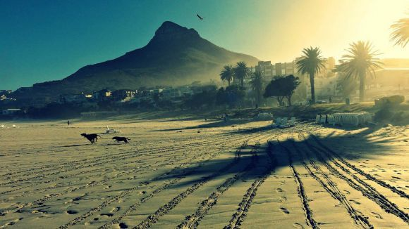 Another stunning image of Camps Bay sunset