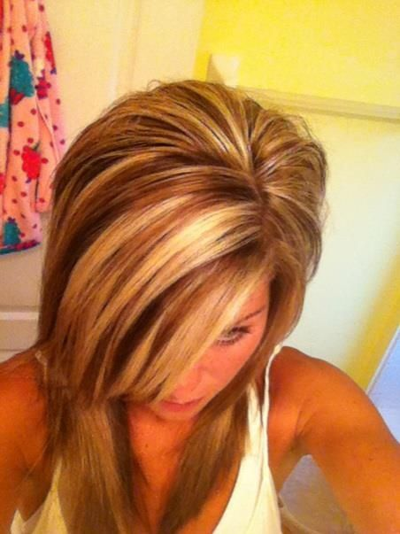 Red Highlights Highlights Amp Lowlights Pinterest Hair