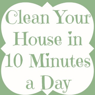 Adventures of a DIY Mom - Clean Your House in 10 Minutes a Day - Kitchen