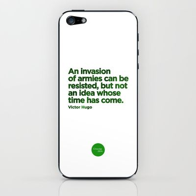 Unresistible Idea iPhone & iPod Skin by Growing Ideas - $15.00