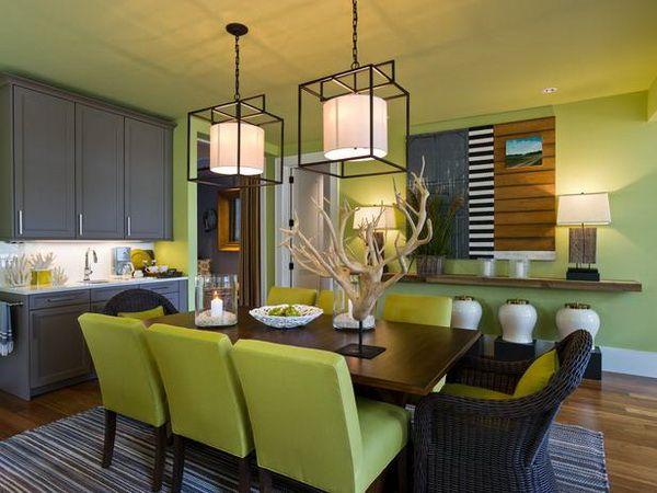 Dining Room of HGTV Dream Home 2013