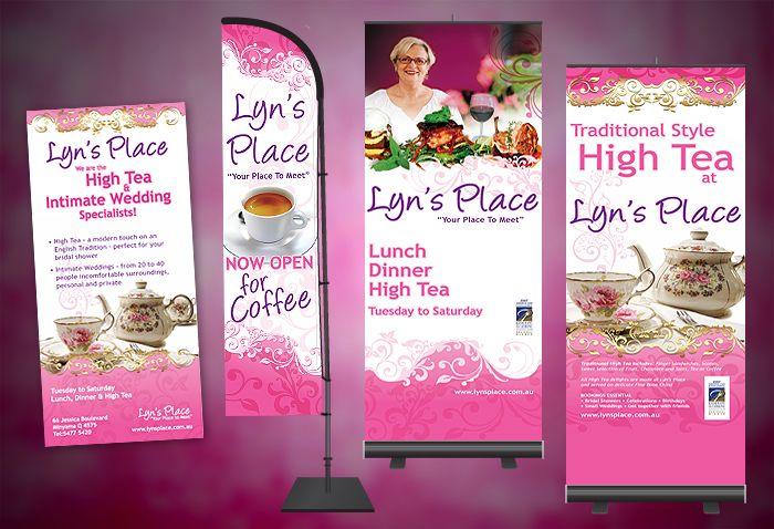Restaurant Banner & Flyer Design