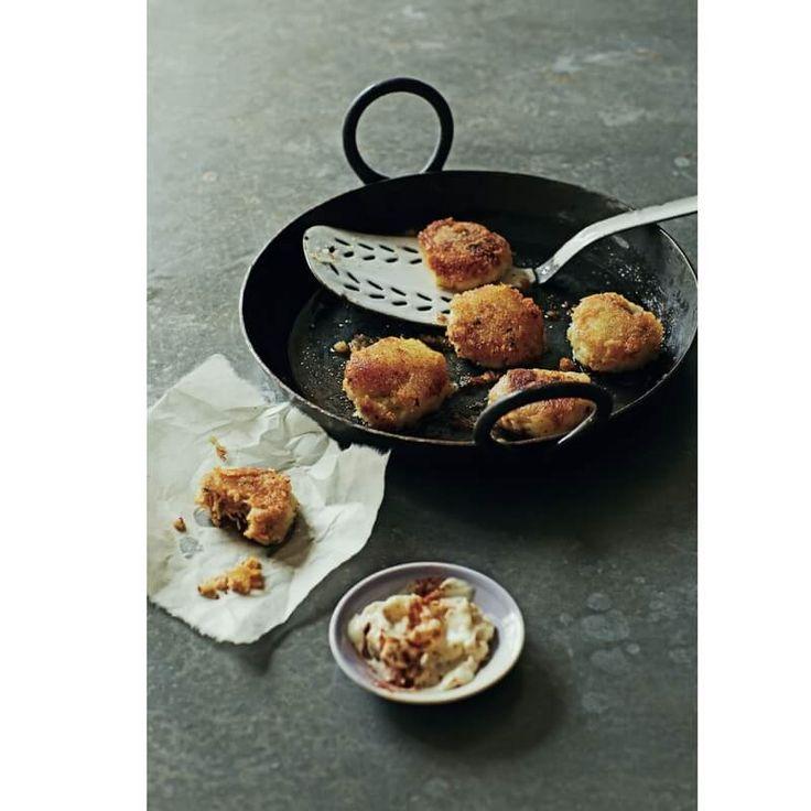 Crab Potato cumin cake Recipe from Chef Cyrus Todiwala